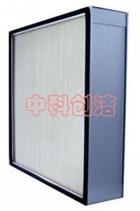 有隔板鋁框高效空氣過濾器 各種規格有隔板高效空氣過濾器 鋁框高效空氣過濾器生產廠家安裝及檢測