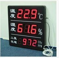 温度、湿度、二氧化碳浓度数显屏