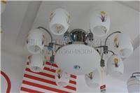供應花燈/吊燈/客廳燈/餐廳燈 B6332-8+1 8頭天花燈 B6332-8+1