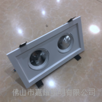 歐普靈眾方形嵌入式防眩LED射燈 24度射燈