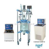 上海中試型雙層玻璃反應釜 10L-50L