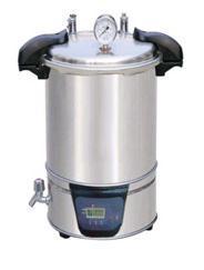 上海汗諾供應手提式18L不銹鋼蒸汽滅菌器SYQ-DSX-280B SYQ-DSX-280B