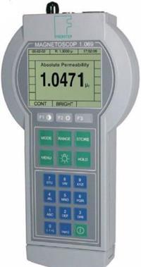 德國FOERSTER磁導率和磁場強度測量儀 MAGNETOSCOP? 1.069