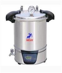 手提式不锈钢电热蒸汽灭菌器SYQ.DSX-280A  SYQ.DSX-280A