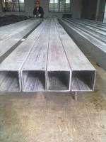 新国标304支撑用平整度好的不锈钢无缝方管