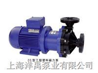 工程塑料磁力泵,耐酸堿管道泵 32CQ-15F