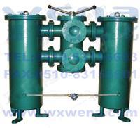 SLQ-80,SLQ-100,SLQ-125,SLQ-150 雙筒網式過濾器,雙筒網式過濾器生產廠家,溫納雙筒網式過濾器 SLQ-80,SLQ-100,SLQ-125,SLQ-150