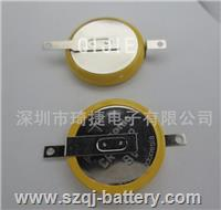 進口CR2032焊腳電池 CR2032電池加腳