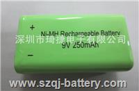 無線話筒/麥克風大容量9V充電電池250mAh 9V