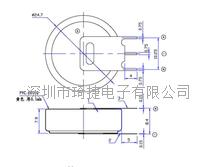 精密激光點焊CR2477電池PIN腳 CR2477