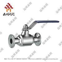 不锈钢直通球阀(卡箍球阀)-卫生级 SMZTQF