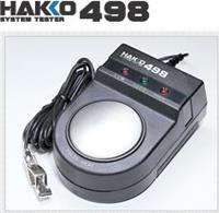 HAKKO498手腕带静电测试仪 498