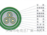 矿用放炮线MHJYV1×4(4/0.28mm+3/0.28mm)  矿用放炮线MHJYV1×4(4/0.28mm+3/0.28mm)