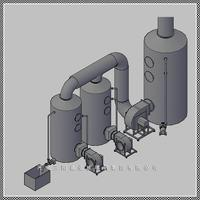 DGS型无泵玻璃钢酸雾净化塔厂家