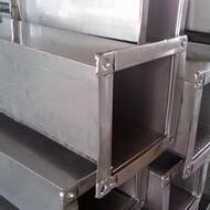 不銹鋼通風管道西安加工銷售 西安不銹鋼通風管道