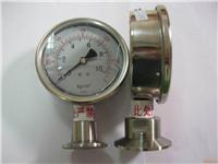 卫生型隔膜压力表 Y-100A-Z/Z/MC
