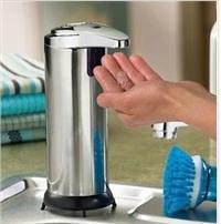 不銹鋼自動感應給皂器 自動感應給皂器  自動皂液器 給皂器 BX8101G