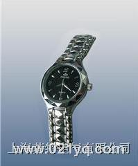 (雙日歷不銹鋼)石英手表近電報警器 WBF