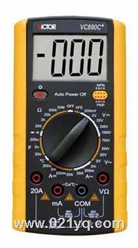 VC9807A+ 數字萬用表 VC9807A+