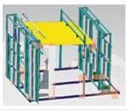 多功能建筑遮陽產品檢測裝置