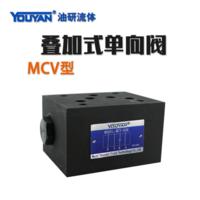 疊加式液壓單向閥 MCV-02A, MCV-02B, MCV-02P, MCV-02T