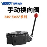 二位四通手動換向閥 24SO-B10H-T 上海型31.5mpa, 24SM-B10H-T 上海型31.5mpa