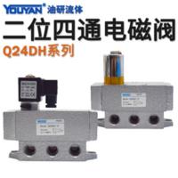 二位四通氣動電磁閥 Q24DH-6 方頭, Q24DH-6 圓頭華能型, Q24DH-8 方頭, Q24DH-8 圓頭