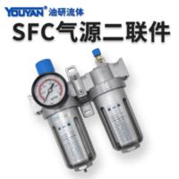 調壓過濾器 SFC200 不帶接頭, SFC200 帶2只PC6-02