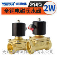 常閉電磁閥 2W025-06 AC220V, 2W040-08 AC220V, 2W040-10 AC220V