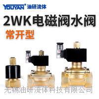 常開型電磁閥水閥氣閥 2WK025-06, 2WK040-08, 2WK040-10, 2WK160-15, 2WK200