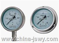 不銹鋼耐震壓力表YB-100ZT YB-100ZT