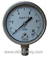 膜盒壓力表YE-100 YE-100
