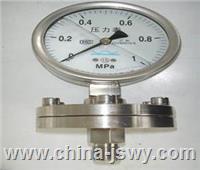 不銹鋼耐震隔膜壓力表YTNP-150H YTNP-150H