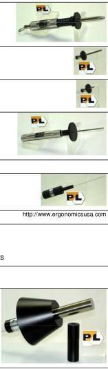 PTL Probes     IEC 61032 P10.24/10.14/10.26 / 10 .27/