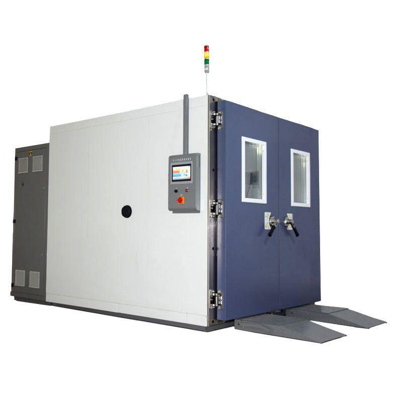 非標定製步入式恒溫恒濕試驗箱水冷式製冷係統 WTH係列
