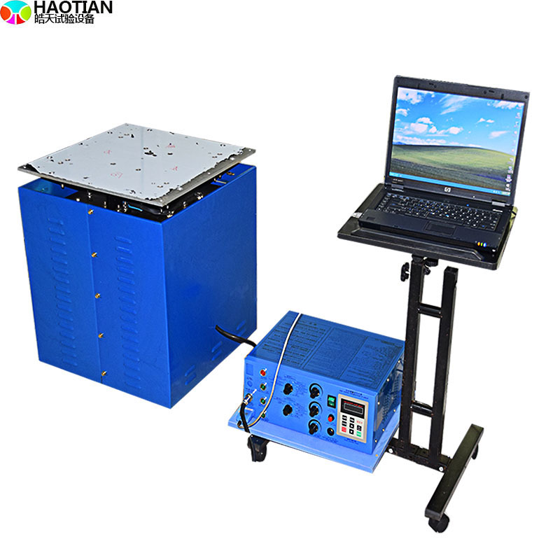 垂直水平電磁振動台標準測試實驗方法