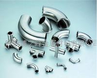 来图加工西安卫生级不锈钢管件 201、304、316、304L、316L、310S、321、2205、2507等