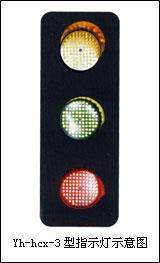 Yh-hcx-2型滑触线电压信号灯