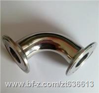 32*1.5卫生级焊弯头+龙云供应32*1.5镜面弯头