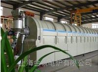 矽碳負極材料高溫包覆連續式回轉爐