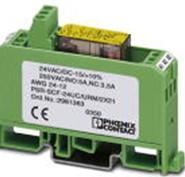 菲尼克斯安全繼電器連接技術和DIN導軌簡便易用