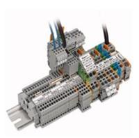 原装WAGO/万可线至板接线端子235-408