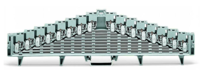 现货一批德国wago轨装式接线端子 756-8104