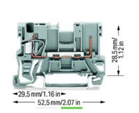 德国WAGO轨装式接线端子电气参数 769-232