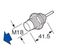 神視SUNX接近傳感器GX-18MLUB-J的規格參數 GXL-15FB-R