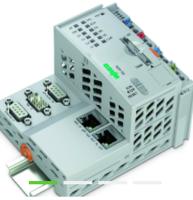 描述万可WAGO控制器的接线资料 RS-232/-485