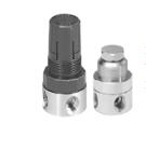 WILKWERSON不锈钢FRL(过滤器,调节器,润滑器) SR1-02-LA00