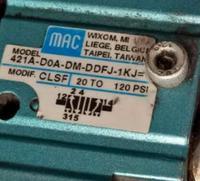 上海MAC的原裝電磁閥使用標準 56C-76-501BA