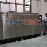 承重5噸的-196℃液氮深冷處理設備交付