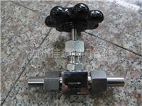 J21W-160P帶塑料手柄的不銹鋼針型閥,針式儀表閥,外螺紋針型閥,針形截止閥 J21W-160P